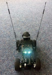 EXCIT3D Prototyp RG1 (teilweise 3D-gedruckt)