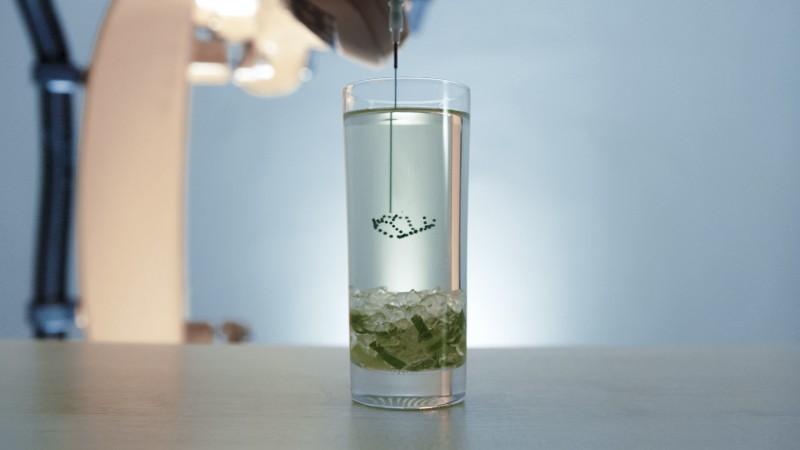 """Print a Drink schwebende Motive in Cocktails 3D drucken3 - Print a Drink: """"schwebende"""" Motive in Cocktails 3D-drucken"""