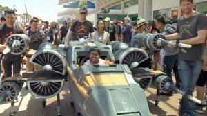 X Wing Fighter Rollstuhlkostuem 3d drucker 300x169 - Massivit 3D: X-Wing-Fighter-Rollstuhlkostüm aus dem 3D-Drucker