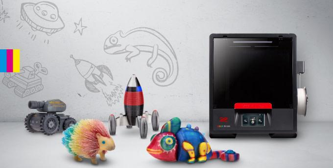 XYZprinting pr%C3%A4sentiert Da Vinci Color Mini 3D Drucker - XYZprinting präsentiert Da Vinci Color Mini-3D-Drucker