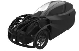 Elektro-Fahrzeug aus dem 3D-Drucker erhielt Straßenzulassung