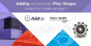AddUp Poly Shape 300x153 - AddUP erwirbt Beteiligung an Metall AM Poly-Shape