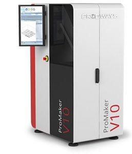 ProMaker V10 257x300 - Neuer Movinglight V10 Keramik 3D-Drucker von Prodways