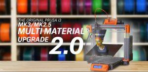 Prusa Multi material upgrade 2.0 MMU2 300x147 - Prusa MMU2 upgrade 3D-Druck mit fünf Materialien