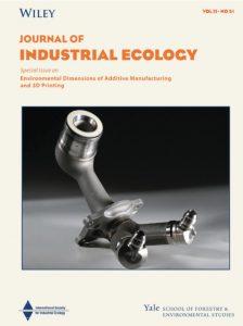 Yale Journal of Industrial Ecology Titelcover 224x300 - Umweltauswirkungen der additiven Fertigung und des 3D-Drucks