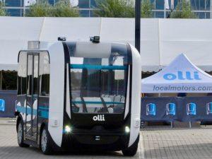 "olli local motors 300x225 - Autonomous Mobility bekommt zwei ""Ollis"" von Local Motors"