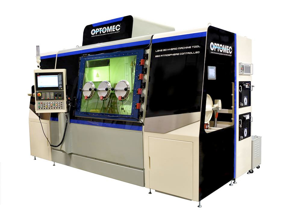 Optomec LENS 860 Hybrid Controlled Atmosphere Machine