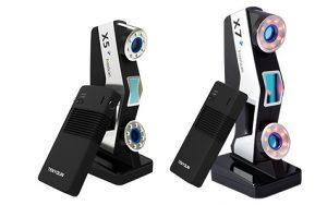 shining3d X5 X7 300x188 - Wireless FreeScan X5+ und X7+ SHINING 3D's erster kabelloser Laser Handheld 3D Scanner