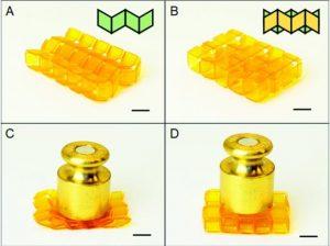 3D gedruckte Oragamistrukturen 300x224 - Forscher machen starke, 3D gedruckte erweiterbare Origami-Strukturen für technische Anwendungen