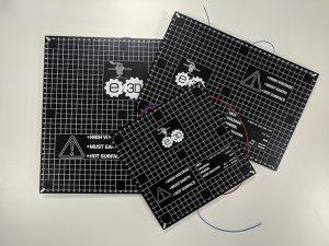 Heizbett E3D 300x225 - Neues Kit zum 3D-Drucken von PAEK mit Desktop Drucker