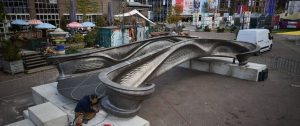 MX3D 3D gedruckte Brücke 300x126 - MX3D stell Metall 3D gedruckte Brücke in Eindhoven während Dutch Design Week aus