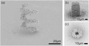 Mikro Golddruck LIFT Universität Twente 300x156 - Neue 3D-Drucktechnik für Goldstrukturen im Mikrometerbereich