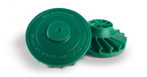 ProJet MJP 2500 IC wachs turbine 300x158 - 3D Systems stellt den ProJet MJP 2500 IC 3D-Drucker für Feinguss-Wachsmodelle vor