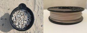 Quagga Dreikantmuschel Filament 300x113 - 3D Drucker Filament aus der Schale der Quagga-Muschel
