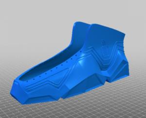 Recreus 3Dgedruckter Schuh 300x242 - 3D-gedruckte Schuhe selbst herstellen
