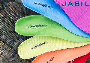 jabil superfeet 300x211 - Jabil nutzt AM für Schuhe