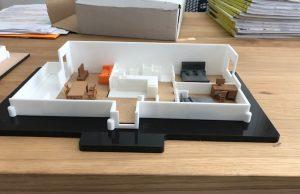 3D-gedruckte Modelle von der eigenen Wohnung