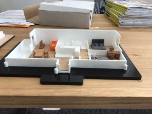 scuplteo 3d wohnung 1 300x225 - 3D-gedruckte Modelle von der eigenen Wohnung