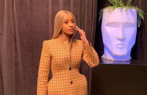 US-Rapperin Cardi B trägt 3D-gedrucktes Balenciaga Outfit
