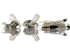 Diese individuell angepassten In-Ear-Geräte wurden von ACS mit einem 100%ig digitalen Workflow unter Verwendung des 3D-Druckers Figure 4™ Standalone gefertigt. (Foto: ACS Custom)