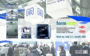 Formnext 2018 German RepRap PR DOW DuPont 300x188 - Formnext 2018: German RepRap präsentiert gemeinsam mit den Partnern DuPont und DOW Material- und Produktneuheiten