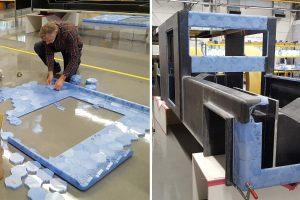 Hexcores 300x200 - Clean2Antartica fährt solarbetriebene 3D-gedrucktes Plastikfahrzeuge zum Südpol