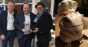 Johannes Lafer 3D gedruckter Kochfrosch 300x160 - 3D-gedruckter Kochfrosch von Stefan Seeger geht an Sternekoch Johann Lafer