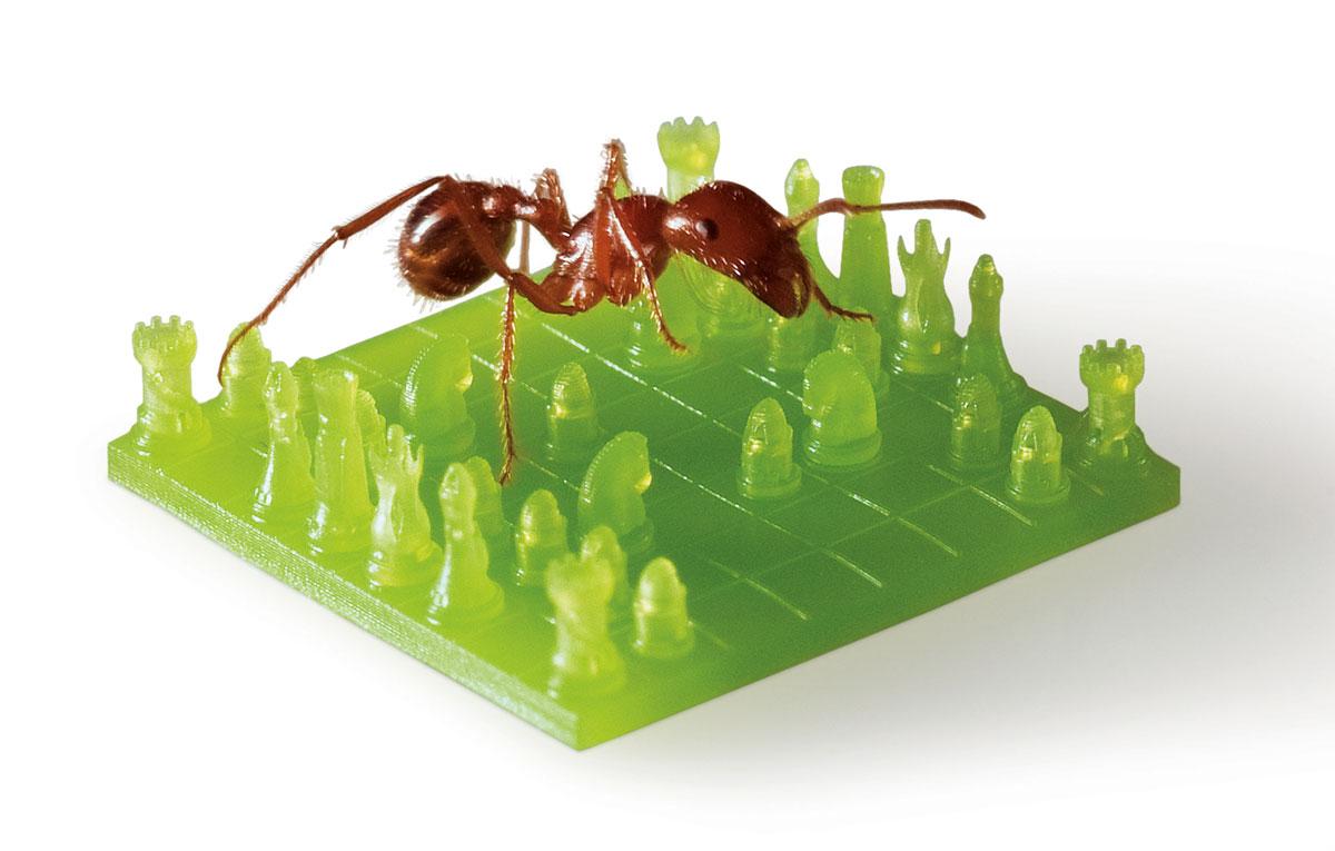 ©Protolabs: MicroFine Green von Protolabs ermöglicht Mikroauflösung mit einer äußerst geringen Schichtstärke von 0,025 mm