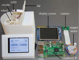 Wasserqualität Messgerät 300x228 - Preiswertes 3D-gedrucktes tragbares Gerät misst die Wasserqualität