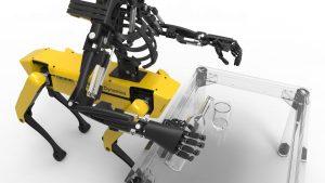 Youbionic One 300x169 - Youbionic One kombiniert bionische 3D-Arme mit SpotMini, dem Roboterhund von Boston Dynamics