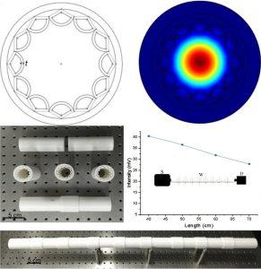 a Segments of the hollowTerahertz Wellenleiter 291x300 - Wissenschaftler 3D-drucken einen effektiven Terahertz-Wellenleiter