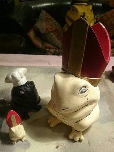 bishop frog 525 225x300 - 3D-gedruckter Kochfrosch von Stefan Seeger geht an Sternekoch Johann Lafer