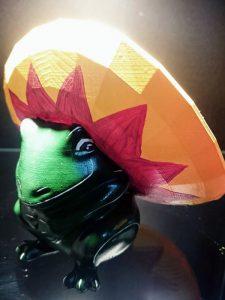 speedy frog 525 225x300 - 3D-gedruckter Kochfrosch von Stefan Seeger geht an Sternekoch Johann Lafer