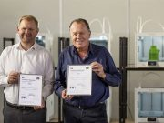 Jos Burger, CEO von Ultimaker, und Paul Heiden, Senior Vice President Product Management bei Ultimaker