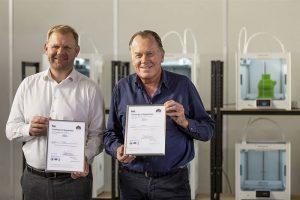 Jos Burger, CEO von Ultimaker, und Paul Heiden, Senior Vice President Product Management bei Ultimaker