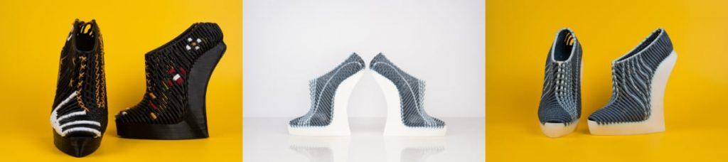 3D gedruckte Schuhe Stratasys Ganit Goldstein 1024x228 - Stratasys stellt neue 3D-bedruckte gewebte Schuhe vor, die von Ganit Goldstein entworfen wurden