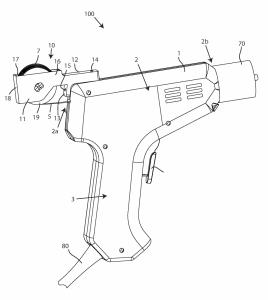 3dprintinggun wallmart patent 268x300 - Walmart patentiert waffenförmigen 3D-Druck-Stift