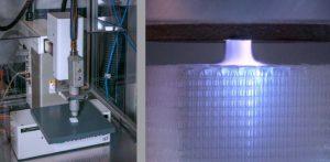 Plasmajet Knochenfragmente 300x147 - Verwendung von Plasmajet zur Förderung der Knochenintegration mit 3D-gedruckten Implantaten