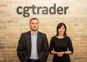 cgtrader Founders Marius Kalytis and Dalia Lasaite 300x214 - 3D-Modelle in Rekordzeit: CGTrader reduziert Dauer von 3D-Scans mit Mantis Vision