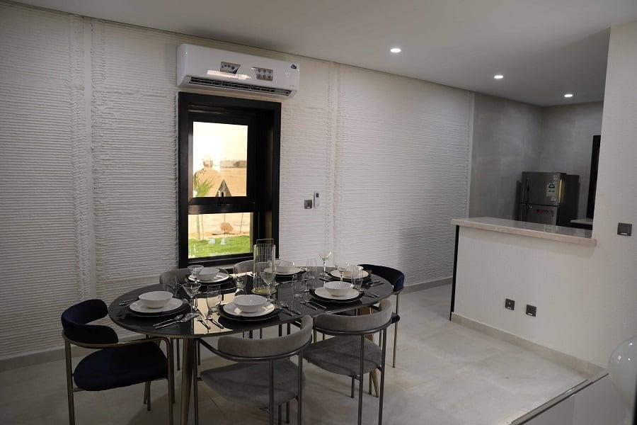 3D gedrucktes Haus Innen - 80 Quadratmeter Einschlafzimmer-Haus in einer Woche gedruckt