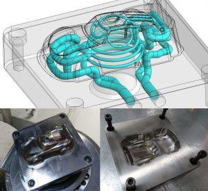 Lightning McQueen Metallform 300x275 - Gitterstrukturen ermöglichen optimiertes Werkzeugdesign für Spielzeuge