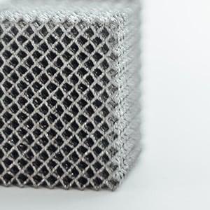 Regelm%C3%A4%C3%9Fige Gitterstruktur - Schadentolerante, von der Kristallmikrostruktur inspirierte Materialien - Metakristalle