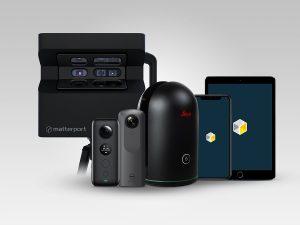 matterport flagship pro2 kompatibel mit Insta360 ONE X Ricoh Theta V Leica Geosystems BLK360 laser scanner 300x225 - Matterport stellt neue Cloud-Plattform vor, die den Zugang zur 3D-Technologie ermöglicht