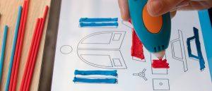 3Doodler App 3D Pen 300x129 - Die mobile App von 3Doodler ist wie ein Malbuch für den 3D-Druck