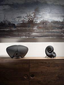 DEEPTIME Lautsprecher aus Sand 225x300 - DEEPTIME stellt Sound System vor, 3D-gedruckte Lautsprecher aus Sand