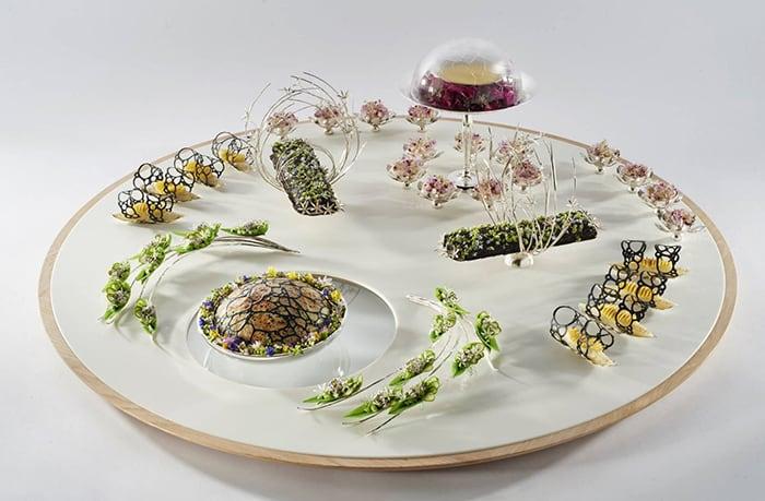 Essen mit 3D gedruckten Formvorlagen - Dänischer Star-Koch gewinnt Preis dank 3D-Druck