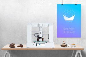 Flasty CHOCOLA3D Lebensmittel 3D Drucker  300x200 - Schokolade 3D-Drucker aus der Ukraine