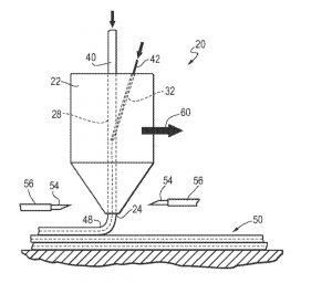 US Patent Northrop Grumman 10173410 B2 300x256 - Northrop Grumman hat ein US Patent für ein 3D-Druckverfahren und -gerät erhalten