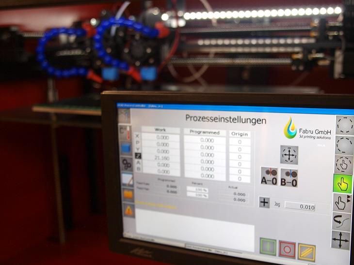 Bildschirm 3D-Drucker