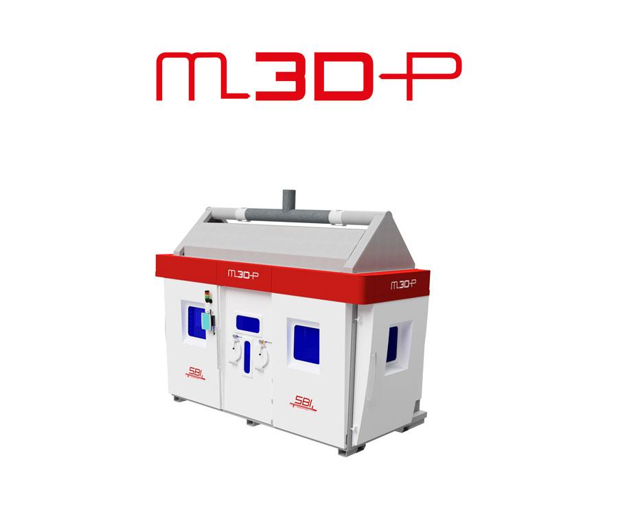 M3DP Anlage von SBI Produktion techn. Anlagen GmbH